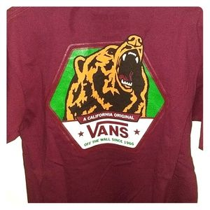 d071b8dc05 Vans Shirts - Vans California Bear T-Shirt